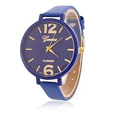 Damen Modeuhr Armbanduhr Quartz / PU Band Vintage Cool Bequem Schwarz Marke