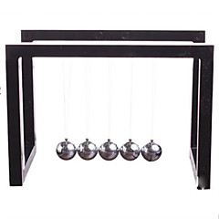 Toys For Boys Discovery Toys Newton's Cradle Balance Ball Square Metal / Plastic