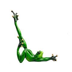 Ekran Model Model ve İnşaa Oyuncakları Yenilik Kurbağa Silikon Yeşil