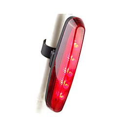 Eclairage de Vélo / bicyclette Lampe Arrière de Vélo - Cyclisme Intensité Réglable Petit Sans-Fil AAA Lumens Batterie Rouge Cyclisme Moto-