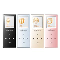 MP3/MP4Player8GB 3,5mm pistoke Micro SD kortti Kosketus