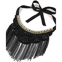 Women's Fashion Bohemian Ethnic Tassel Necklace Collar Necklaces Jewelry Party