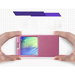 For Samsung Galaxy etui Med stativ Med vindue Flip Ultratyndt Etui Heldækkende Etui Helfarve Kunstlæder for Samsung A7