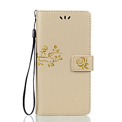 For Sony Xperia Z5 Premium Z5 Compact PU Leather Material Double Embossed Solid Color Phone Case for Z5 X XA XP