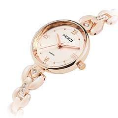 KEZZI Women's Fashion Watch Wrist watch Quartz Alloy Band Cool Casual Silver Rose Gold
