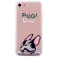 For Apple iPhone 7 7Plus 6S 6Plus Case Cover Dog Pattern Frosted TPU Phone Shell Material Phone Case