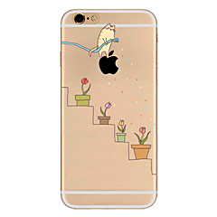 For Apple iPhone 7 7Plus 6S 6Plus Case Cover Kitten Pattern HD TPU Phone Shell Material Phone Case