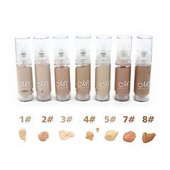 Foundation Concealer/kontur Våd Khaki Farvet glans Dekning Længerevarende Concealer Naturlig Øjne Ansigt Læber