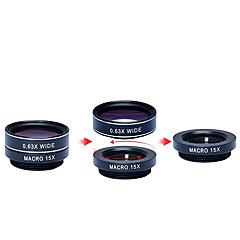 1의 HD 카메라 렌즈 키트 apexel 5 198fisheye lens0.63x 아이폰에 대한 폭 넓은 angle15x 매크로 lens2x 망원 lenscpl 렌즈 7 6 / 6S 6 / 기가 플러스 자체 삼성 조지아