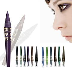 6 färger / 1set professionell makeup m.n ögonskugga penna set vattentät gel eyeliner penna pärla ljus penna belyser eyeliner krita