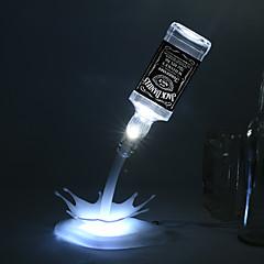 Novinkou kutilství vedl stolní lampa domů romantický nalít USB Baterie noční světlo nabíjecí USB LED noční světlo prázdná láhev vína lampa