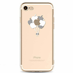 Para Estampada Capinha Capa Traseira Capinha Fruta Macia TPU para AppleiPhone 7 Plus iPhone 7 iPhone 6s Plus/6 Plus iPhone 6s/6 iPhone