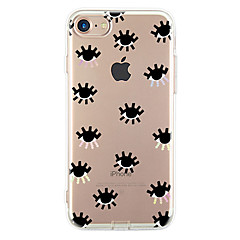For Ultratyndt Mønster Etui Bagcover Etui Mosaik mønster Blødt TPU for Apple iPhone 7 Plus iPhone 7 iPhone 6s Plus/6 Plus iPhone 6s/6