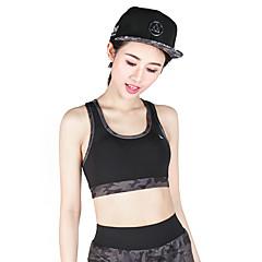 Mulheres Sutiã Esportivo Secagem Rápida Respirável Sutiã Esportivo Blusas para Ioga Exercício e Atividade Física Corrida Modal Poliéster