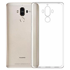 For Støvsikker Ultratyndt Transparent Etui Bagcover Etui Helfarve Blødt TPU for HuaweiHuawei Honor 6X Huawei Mate 9 Huawei Enjoy 6 Huawei