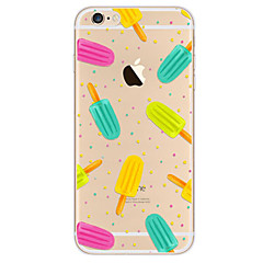 Na Ultra cienkie Wzór Kılıf Etui na tył Kılıf Kreskówka Miękkie TPU na Apple iPhone 7 Plus iPhone 7 iPhone 6s Plus/6 Plus iPhone 6s/6
