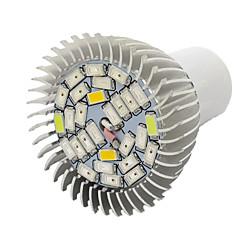 10W E27 Luci LED per la coltivazione 28 SMD 5730 800 lm Bianco caldo Rosso Blu Lampada UV (a ultravioletti) V 1 pezzo