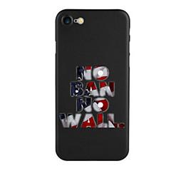Til Mønster Etui Bakdeksel Etui Ord / setning Myk TPU til AppleiPhone 7 Plus iPhone 7 iPhone 6s Plus/6 Plus iPhone 6s/6 iPhone SE/5s/5