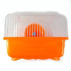 Rodents Cages Multi-function Hamster Cottage Metal Plastic Green Blue Brown Pink Orange