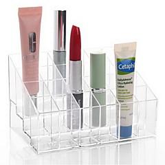 Make-up opbergsysteem Acryl Oranjegeel Anderen 14.5*9.5*7.5