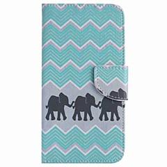 Varten Lomapkko Korttikotelo Tuella Etui Kokonaan peittävä Etui Elefantti Kova Tekonahka varten Google Google Pixel Google Pixel XL