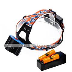 U'King Otsalamput LED 6000 Lumenia 4.0 Tila Cree XM-L T6 Kyllä Mini Helppo kantaa varten Telttailu/Retkely/Luolailu Päivittäiskäyttöön