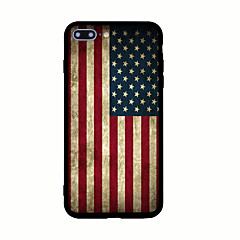 Mert Minta Case Hátlap Case Zászló Kemény Akril mert AppleiPhone 7 Plus iPhone 7 iPhone 6s Plus iPhone 6 Plus iPhone 6s iPhone 6 iPhone