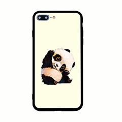 Voor Patroon hoesje Achterkantje hoesje Dier Hard Acryl voor AppleiPhone 7 Plus iPhone 7 iPhone 6s Plus iPhone 6 Plus iPhone 6s Iphone 6