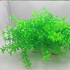 Dekoracja Aquarium Roślina wodna Nietoksyczne i bez smaku Plastik Zielony
