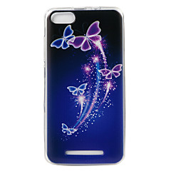 For WIKO LENNY3 Case Cover Butterfly Painted Pattern TPU Material Phone Case