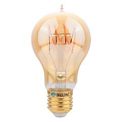 E27 LED Λάμπες Πυράκτωσης A60(A19) SMD 400 lm Θερμό Λευκό Διακοσμητικό AC 220-240 V 1 τμχ