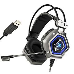 xiberia x13 pro usb 7.1 sourround stero szerencsejáték fejhallgató felmondásával nosie számítógép pc gamer nehéz basszus fejhallgató,