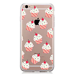For IPhone 7 Pattern Case Back Cover Case  Ice Cream Pattern for IPhone 6s 6 Plus 7 7Plus 5s 5 5c 4