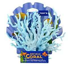 Aquarium Decoratie Koraal Niet-giftig & Smaakloos Hars Rood Blauw