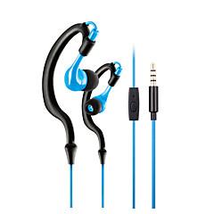 2017 nyaste mode sport kör headset hög kvalitet nackband i örat stil vattentät sweatproof hörlurar med mikrofon mikrofon