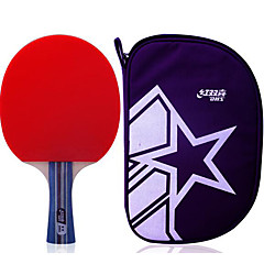 2 αστέρια Πινγκ πονγκ Ρακέτες Λάστιχο Κοντή Λαβή Εσωτερικό Αθλήματα Αναψυχής