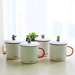 Ποτήρια, 300 Κεραμικό Δερματί Γάλα Κούπες Καφέ Κούπες Ταξιδιού