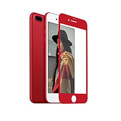 zxd kína piros puha széle iphone 7 plus képernyő védő 3d teljes burkolat, edzett üveg zökkenőmentes kiterjedő tükröződésmentes