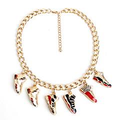 Női Nyaklánc medálok Strands nyakláncok Ékszerek Ötvözet Ékszerek Divat Személyre szabott Euramerican Arany ÉkszerekParti Különleges