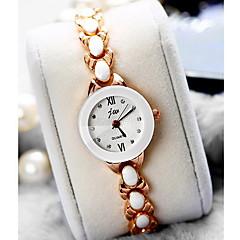 Women's Fashion Watch Quartz Alloy Band Cool Casual Luxury Rose Gold