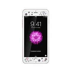 Apple iPhone 6 / 6s 4.7inch edzett üveg átlátszó elülső képernyő védő a domborít rajzfilm minta világít a sötétben elefánt