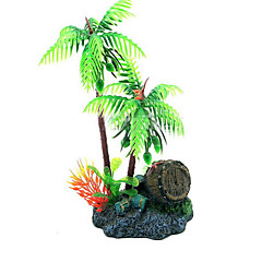 Aquarium Simulation Coconut Trees Shape Ornament
