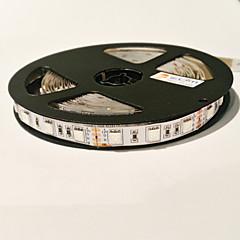 z®zdm 5m 72W 300pcs 5050 4red en 1blue / groep onder leiding plantaardige licht strip DC12V
