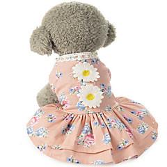 Perros Vestidos Ropa para Perro Invierno Verano Primavera/Otoño PrincesaAdorable Boda Cumpleaños Vacaciones Moda Casual/Diario Clásico