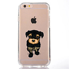 Para Transparente Diseños Funda Cubierta Trasera Funda Perro Suave TPU para AppleiPhone 7 Plus iPhone 7 iPhone 6s Plus iPhone 6 Plus