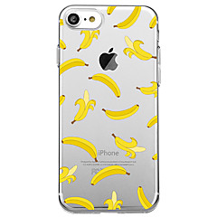 Voor Ultradun Transparant hoesje Achterkantje hoesje Fruit Zacht TPU voor AppleiPhone 7 Plus iPhone 7 iPhone 6s Plus iPhone 6 Plus iPhone