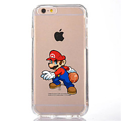 For iPhone 7 Cartoon TPU Soft Ultra-thin Back Cover Case Cover For Apple iPhone 7 PLUS 6s 6 Plus SE 5s 5 5C 4 4s