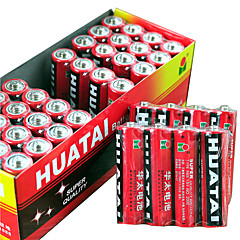 HUATAI AA Alkaline/Alkaline Dry Cell Battery 1.5V 40 Pack
