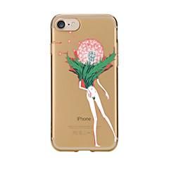 Varten Läpinäkyvä Kuvio Etui Takakuori Etui Voikukka Pehmeä TPU varten AppleiPhone 7 Plus iPhone 7 iPhone 6s Plus iPhone 6 Plus iPhone 6s