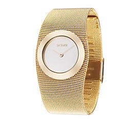Dámské Hodinky k šatům Módní hodinky Náramkové hodinky japonština Křemenný Slitina Kapela Elegantní Luxusní Zlatá Zlatá